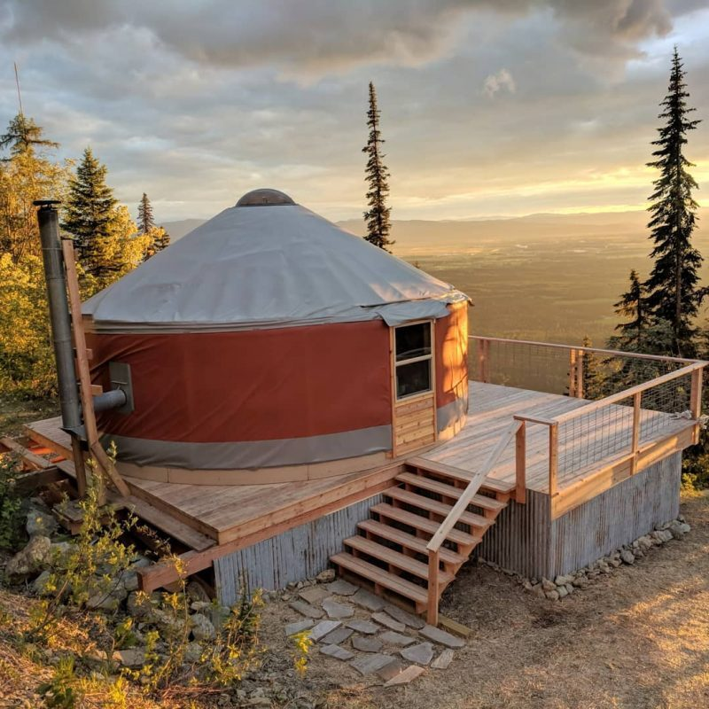Jewel Basin Yurt is perched at 5000' above sea level on the edge of the Jewel Basin Recreation Area.